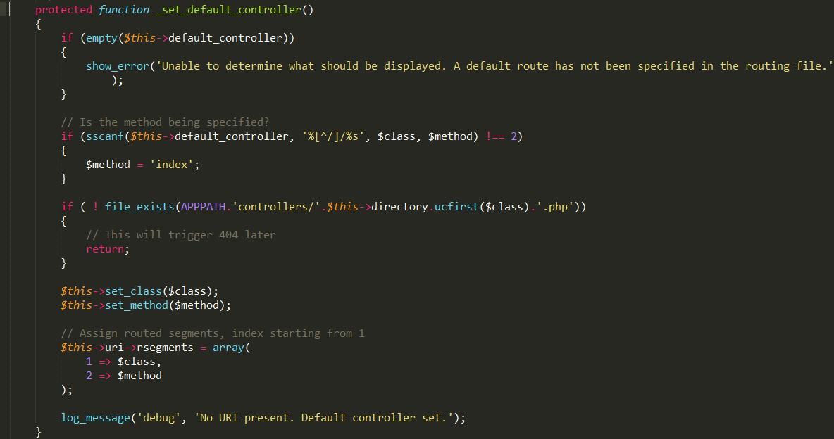 Route类中_set_default_controller方法